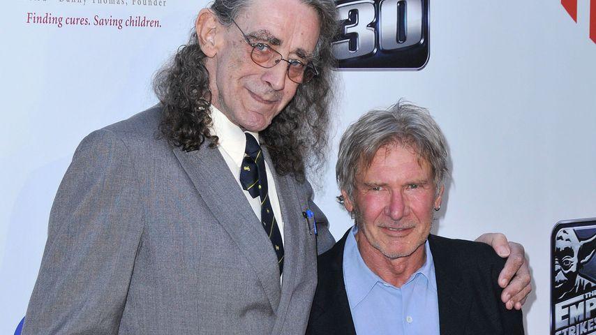 Harrison Ford und Peter Mayhew