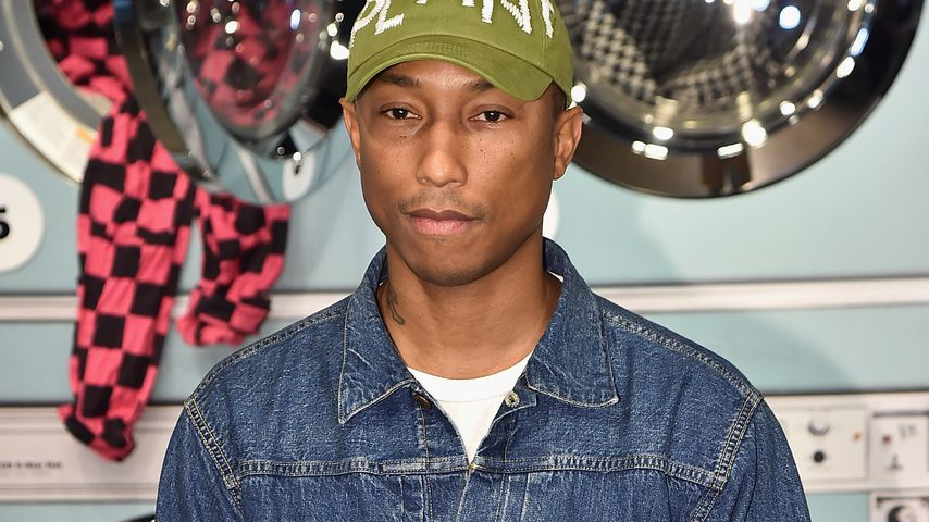 Pharrell Williams bei der New York Fashion Week 2017