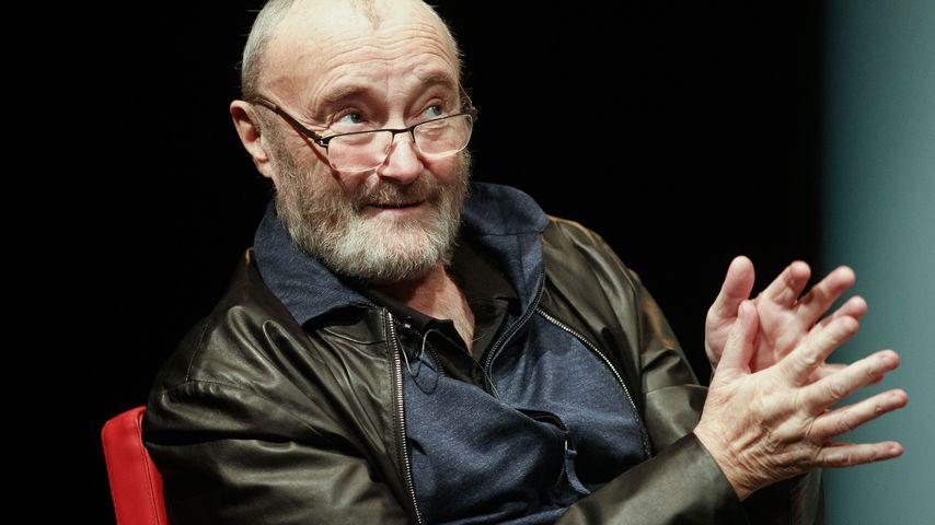 Phil Collins bei einer Podiumsdiskussion in Graz im Mai 2019