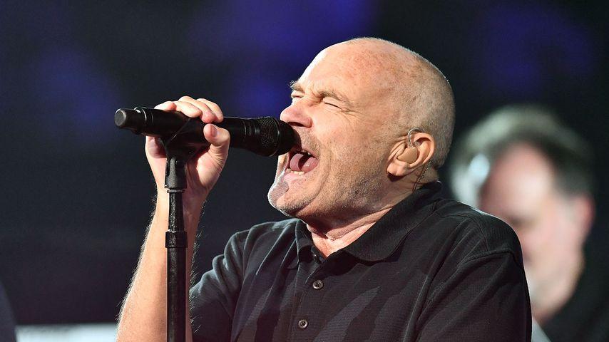 Phil Collins bei einem Auftritt in New York