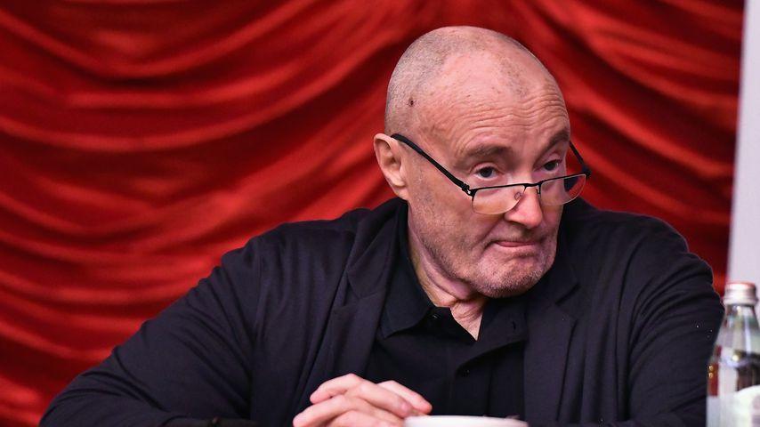 Phil Collins bei der Little Dreams Foundation-Pressekonferenz im Oktober 2017