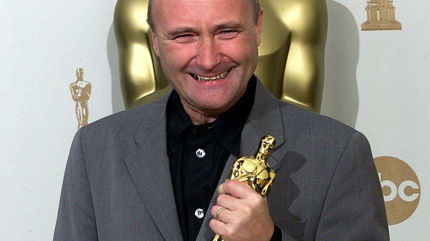 Phil Collins bei den Oscars in L.A. im März 2000
