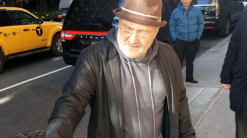 Phil Collins unterwegs in New York, Oktober 2016