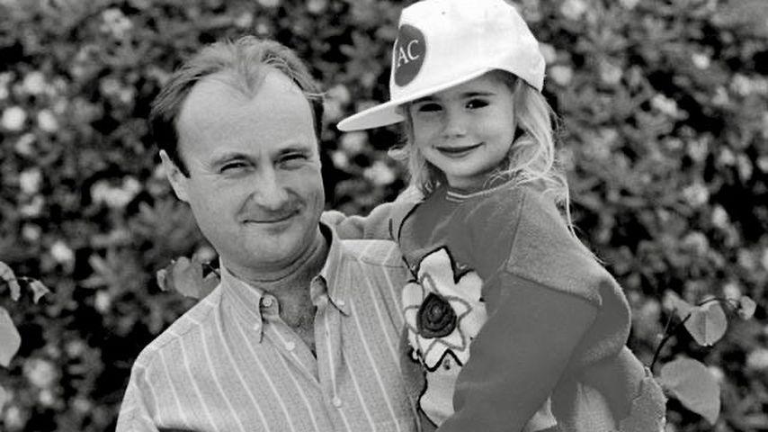 Phil Collins mit seiner Tochter Lily