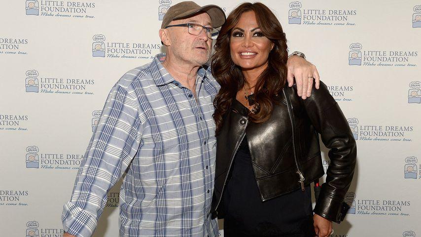 Phil Collins und Orianne Cevey, 2016
