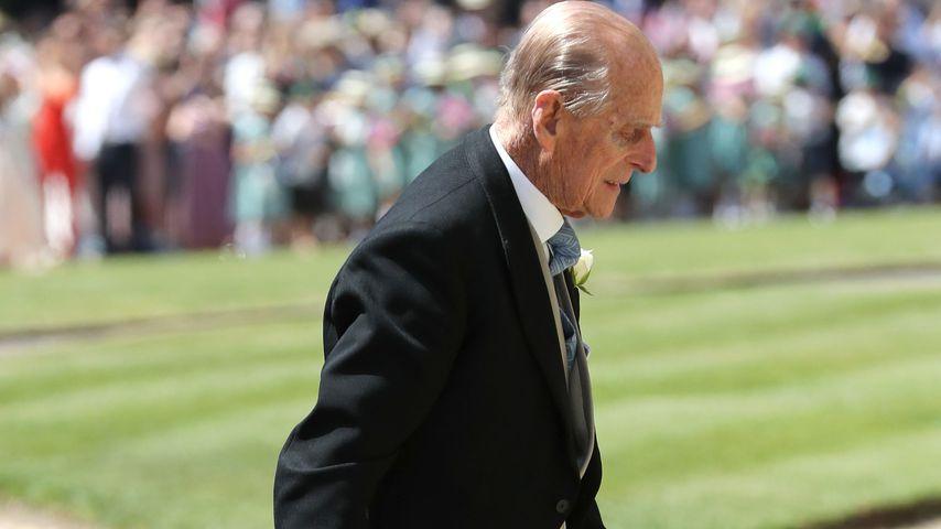 Prinz Philip bei der Hochzeit von Prinz Harry und Herzogin Meghan