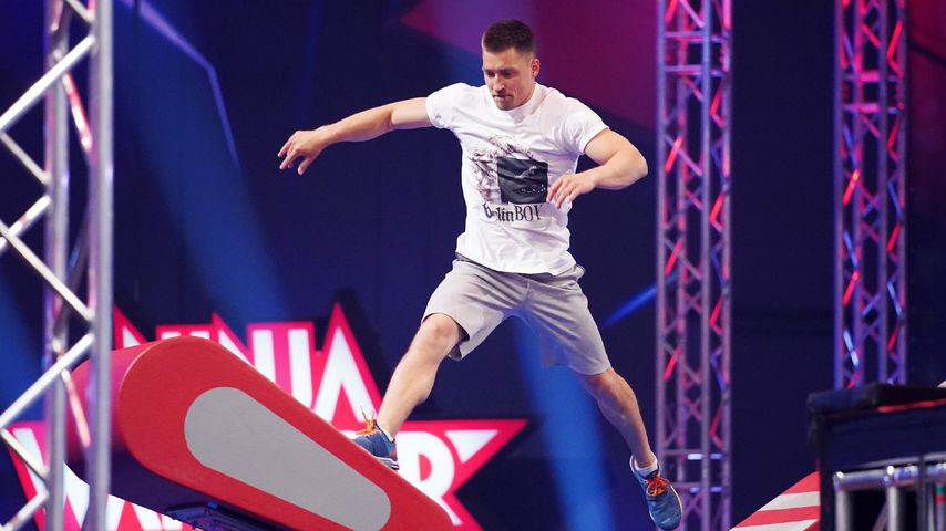 "Philipp Boy bei ""Ninja Warrior Germany"""
