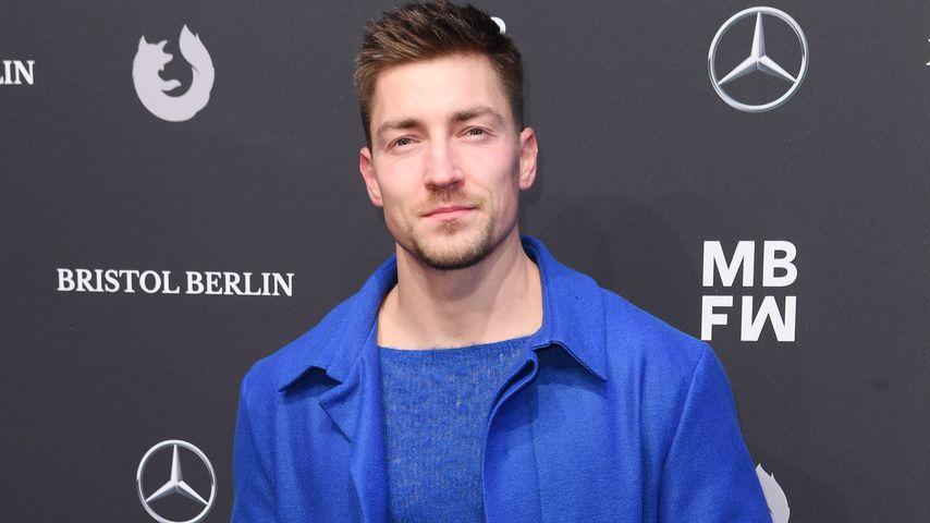 Ex-Kunstturner Philipp Boy auf der Ivanman-Fashionshow in Berlin