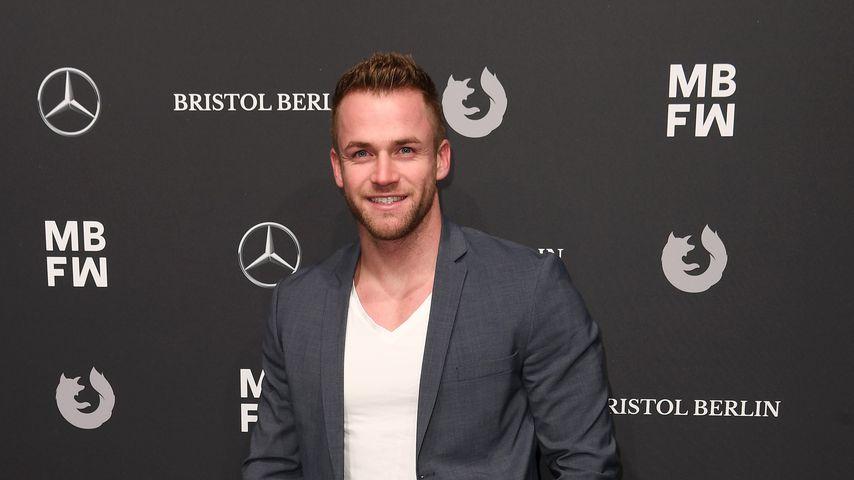 Philipp Stehler bei der Berlin Fashion Week im Januar 2018