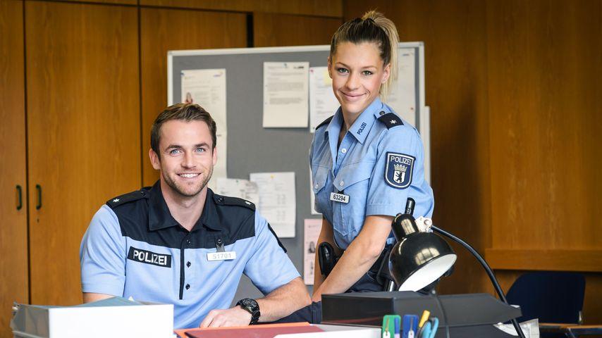 """Philipp Stehler und Franziska Balzer in """"Sterne von Berlin – Die jungen Polizisten"""""""