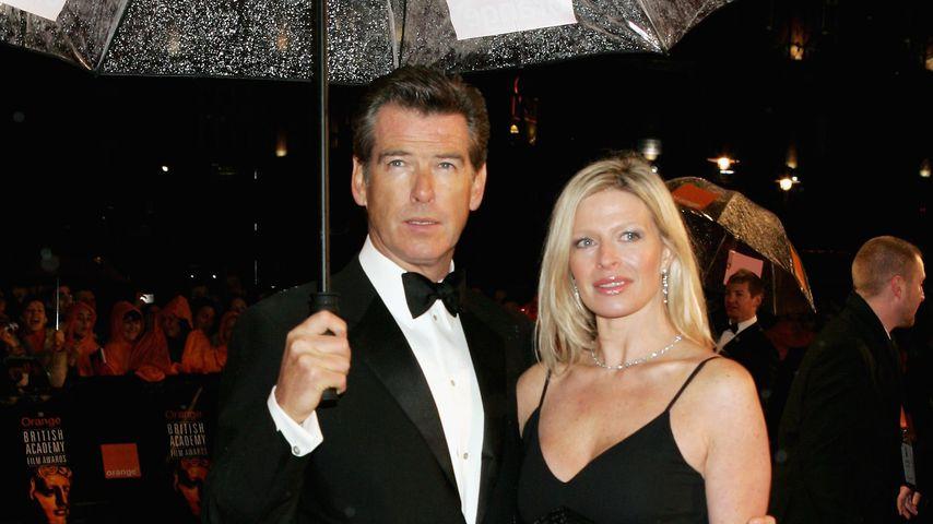 Pierce Brosnan mit seiner Adoptivtochter Charlotte, 2006