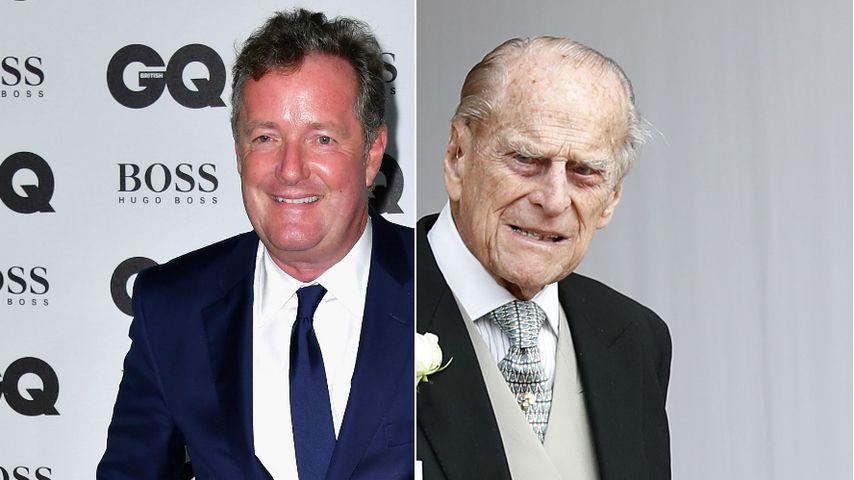 Abrechnung nach Crash: Piers Morgan ätzt gegen Prinz Philip