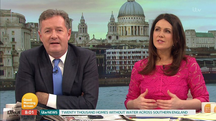 "Piers Morgan und Susanna Reid bei ""Good Morning Britain"""