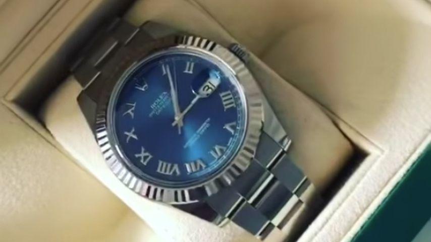 Pietro Lombardis Rolex-Uhr für seinen Manager
