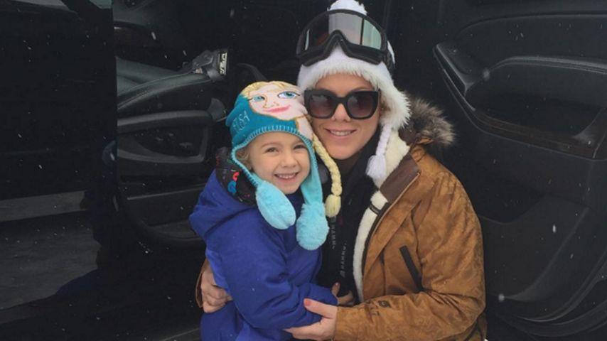 Süße Ski-Hasen: Pinks Töchterchen Willow ist schon so groß!