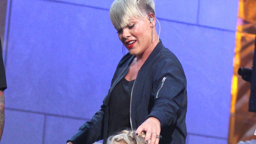 Echte Star-Gene: Willow rockt mit Mama Pink die Bühne!