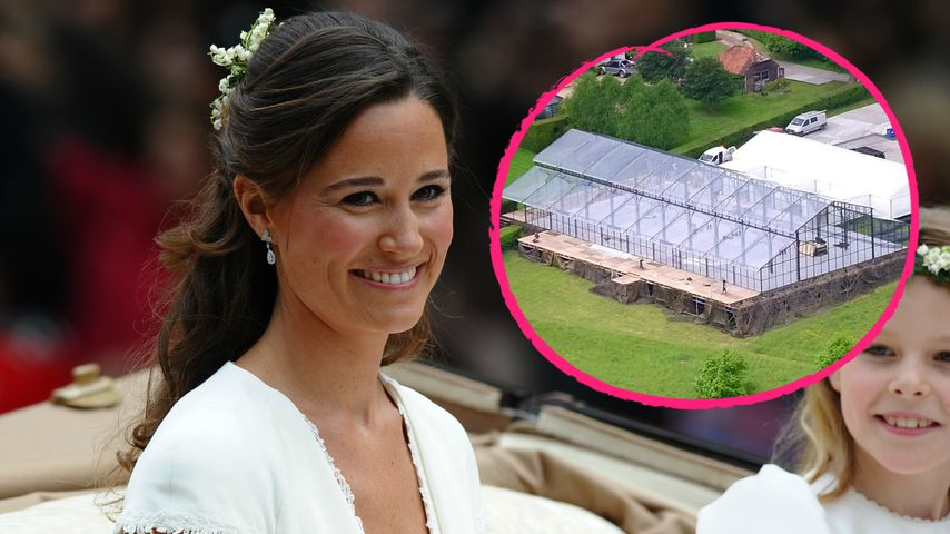 Glaspalast für 120.000€! So kostspielig wird Pippas Hochzeit