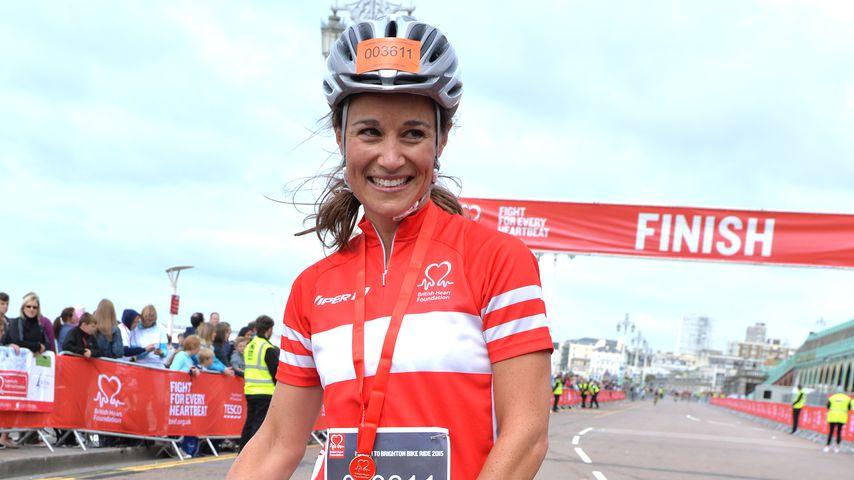 "Pippa Middleton beim ""London To Brighton Bike Ride"" 2015"