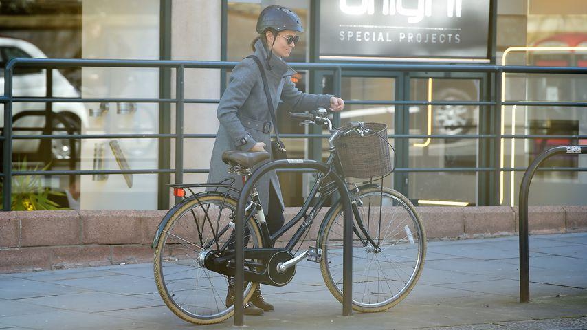 Pippa Middleton auf Fahrrad: Hier war sie schon schwanger!