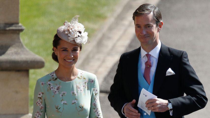 Pippa bei Royal-Wedding: Sie zeigt ihren Mini-Babybauch!