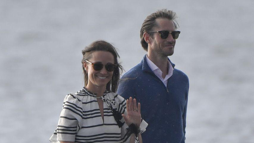 Pippa Middleton und James Matthews in ihren Flitterwochen in Sydney