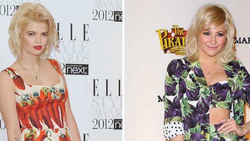 Fashion-Fight im Gemüse-Kleid: Pixie vs. Pixie