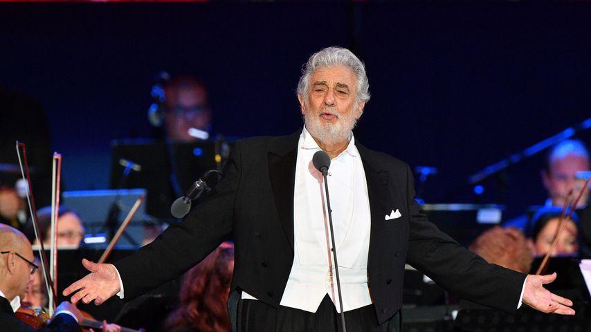 Plácido Domingo bei einem Konzert in Ungarn