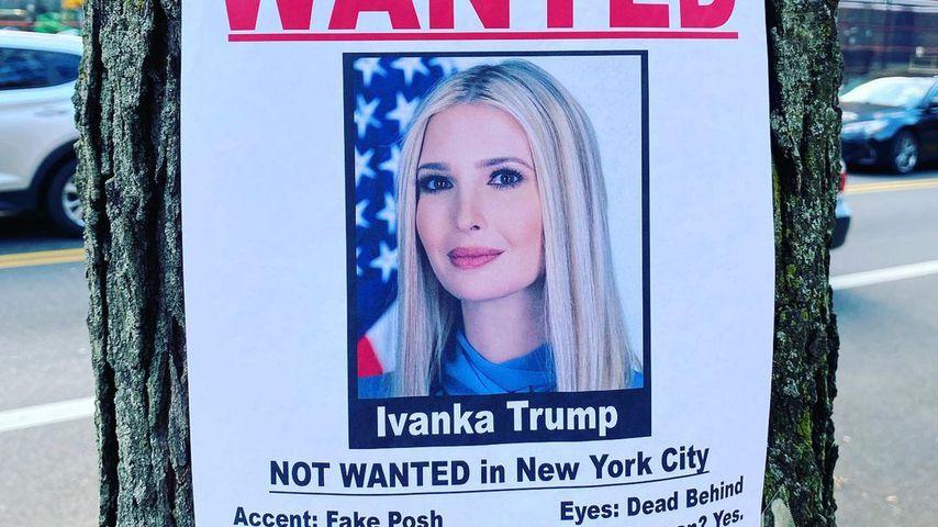 Ivanka-Trump-Plakat in New York