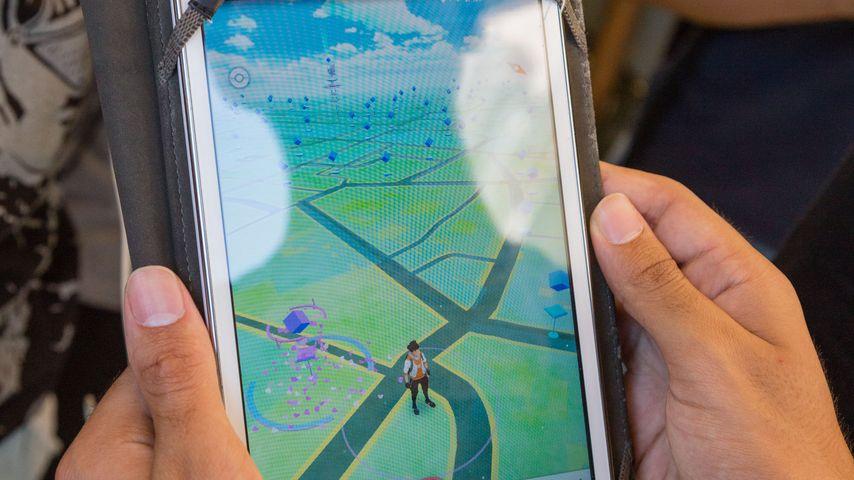 Pokémon Go-Spieler in Rom
