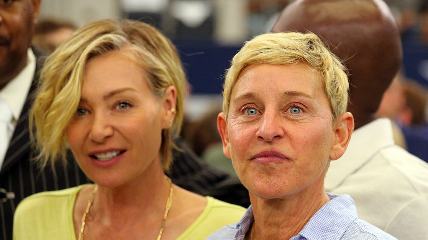 Portia de Rossi und Ellen DeGeneres