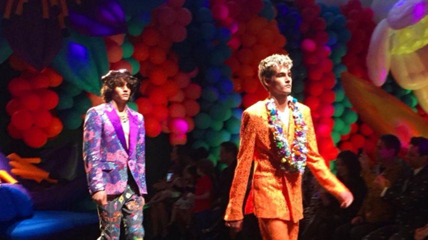 Auf Mamas Spuren: Cindy Crawfords Sohn feiert Runway-Debüt