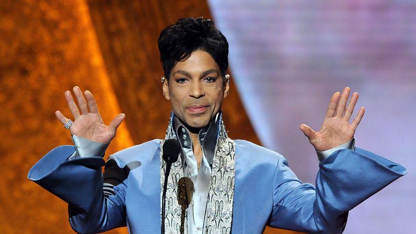 Prince bei einem Auftritt 2011