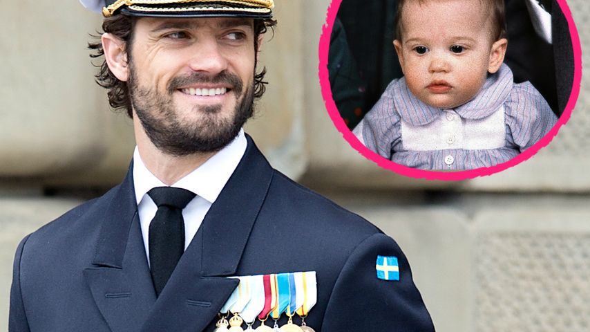 Bald-Papa Carl Philip: Sooo süß war der Schweden-Prinz