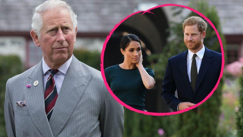 Prinz Charles macht sich Sorgen um Zukunft von Harrys Baby!