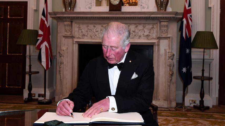 Prinz Charles im März 2020