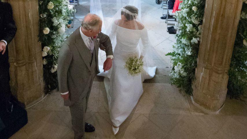 Prinz Charles und Herzogin Meghan in Schloss Windsors St. George's Kapelle