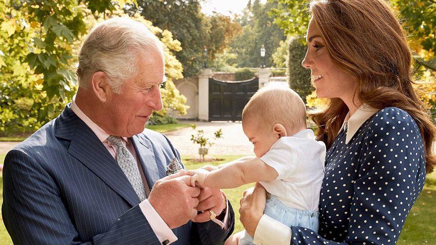 Prinz Charles, Prinz Louis und Herzogin Kate