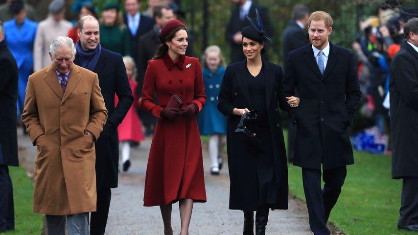 Royaler Weihnachts-Kirchgang: Wo waren George und Charlotte?