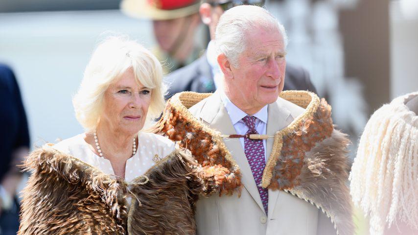 Prinz Charles und Camilla in Neuseeland