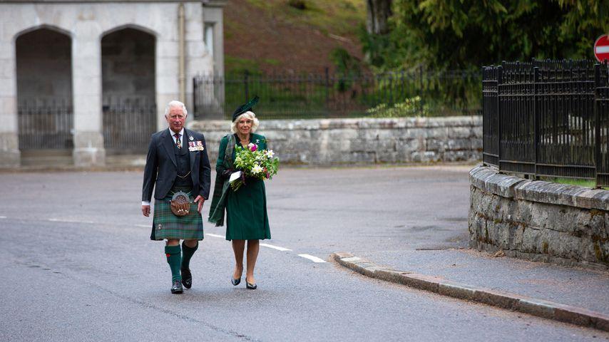 Prinz Charles und Camilla Parker Bowles in Schottland, Mai 2020