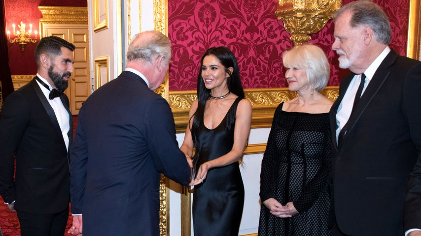 Prinz Charles und Cheryl Cole 2018 in London