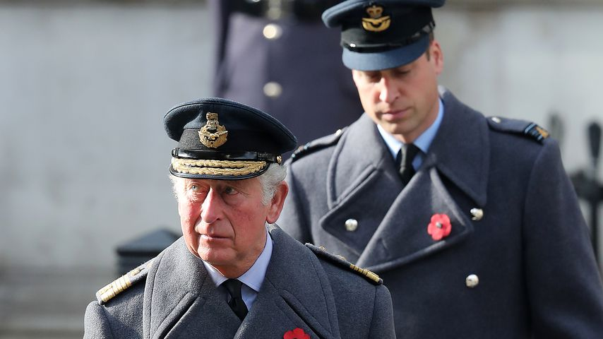 Prinz Charles und Prinz William zum National Service of Remembrance 2020