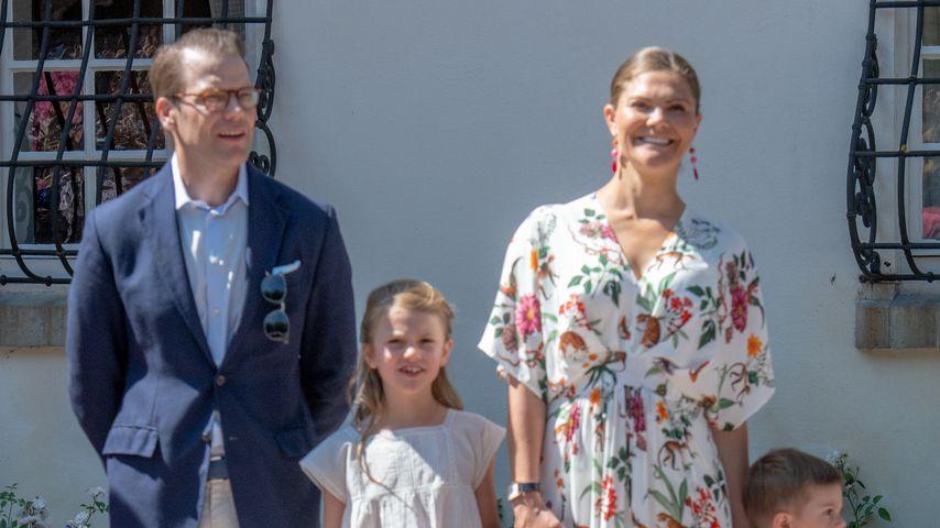 Prinz Daniel, Prinzessin Estelle, Prinzessin Victoria und Prinz Oscar