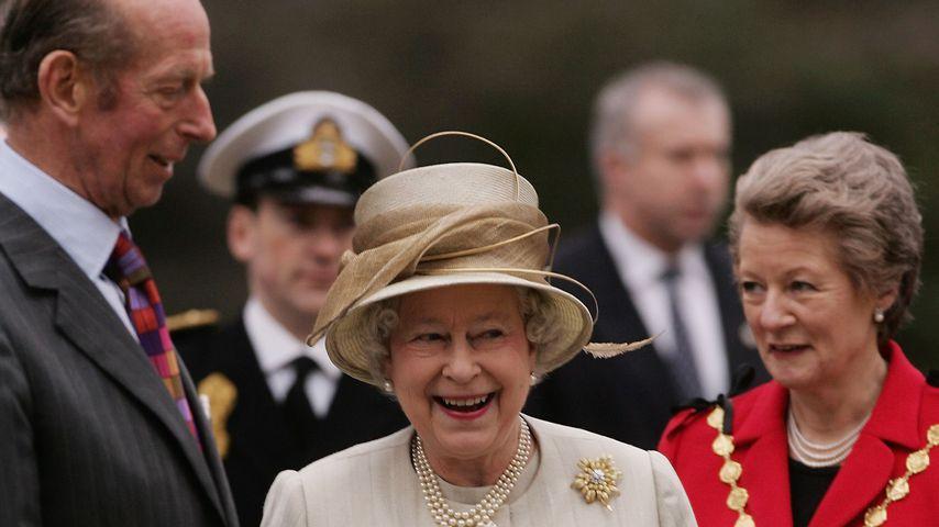 Prinz Edward und Queen Elizabeth II.