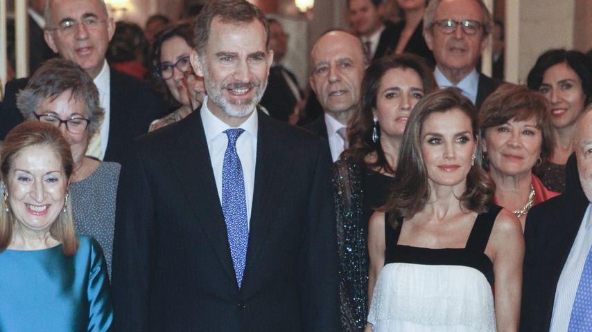 Prinz Felipe und Prinzessin Letizia von Spanien 2017