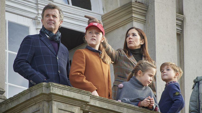 Prinz Frederik, Prinzessin Isabella, Prinzessin Mary, Prinzessin Josephine und Prinz Vincent
