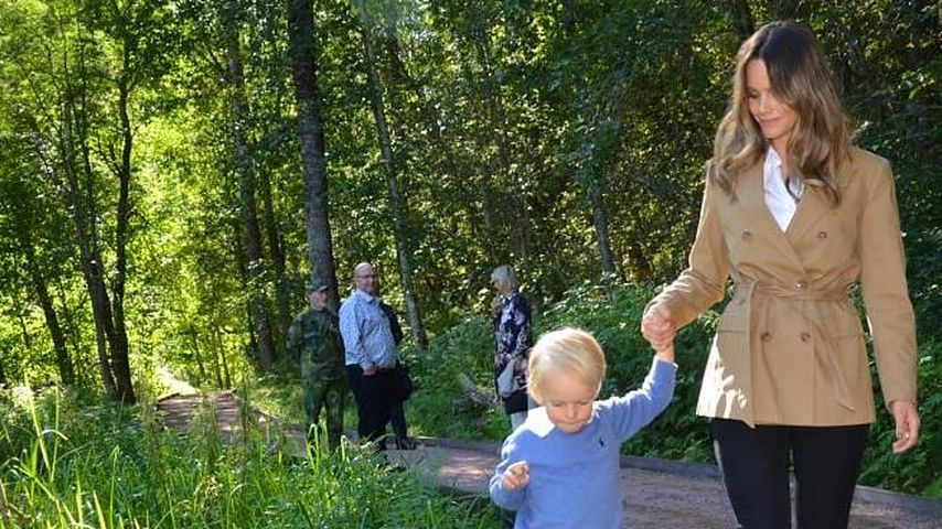 Sofia von Schweden mit ihrem Sohn Gabriel