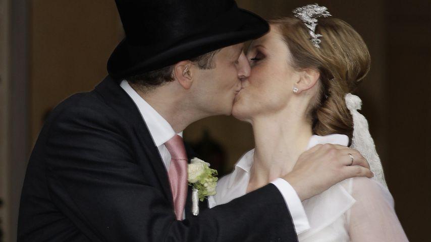 Prinz Georg Friedrich und Prinzessin Sophie von Preußen bei ihrer Hochzeit, 2011