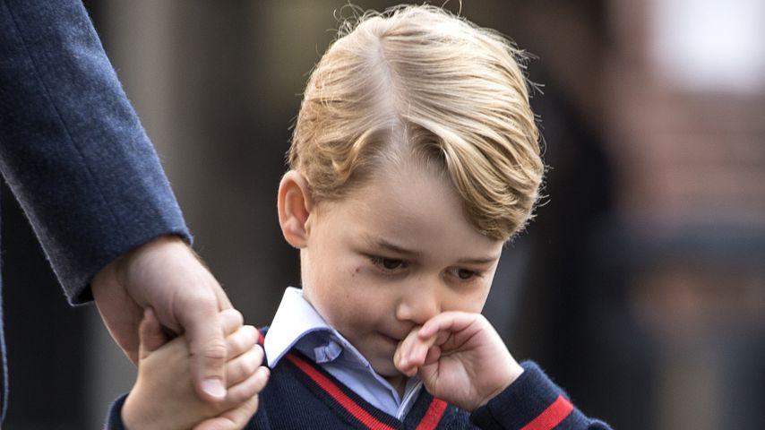 Prinz George am ersten Schultag