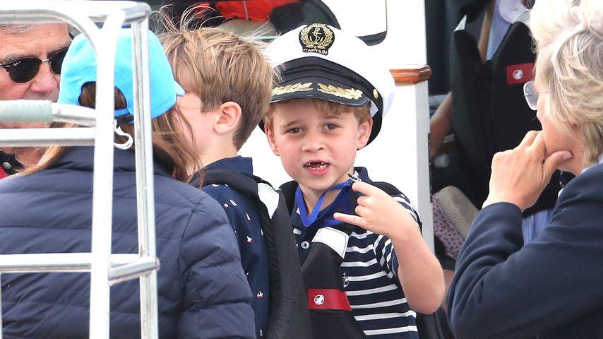 Prinz George bei einer Regatta im August 2019